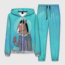 Костюм мужской BoJack цвета 3D-меланж — фото 1