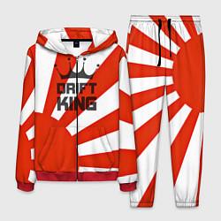 Костюм мужской Drift King: JDM Style цвета 3D-красный — фото 1
