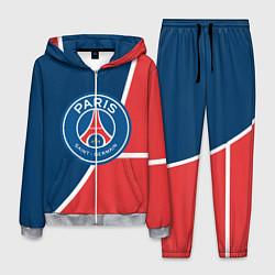 Костюм мужской FC PSG: France цвета 3D-меланж — фото 1