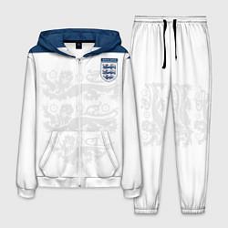 Костюм мужской Сборная Англии цвета 3D-белый — фото 1