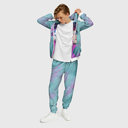 Костюм мужской Lil Peep: Neon Style цвета 3D-белый — фото 2