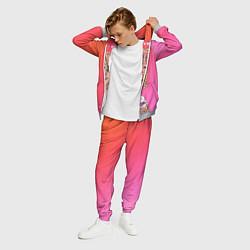 Костюм мужской Lil Pump Boss цвета 3D-меланж — фото 2
