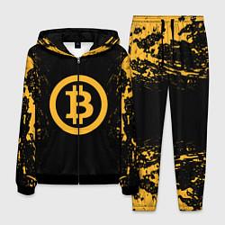 Костюм мужской Bitcoin Master цвета 3D-черный — фото 1