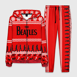 Костюм мужской The Beatles: New Year цвета 3D-красный — фото 1
