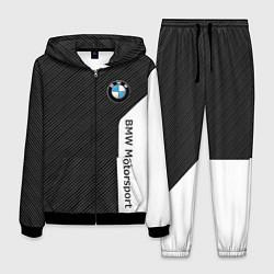 Костюм мужской BMW Motorsport: Black Carbon цвета 3D-черный — фото 1