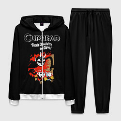 Костюм мужской Cuphead: Hell Devil цвета 3D-белый — фото 1