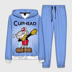 Костюм мужской Cuphead Dab цвета 3D-белый — фото 1