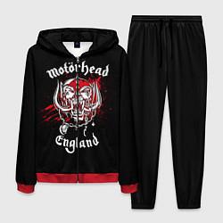 Костюм мужской Motorhead England цвета 3D-красный — фото 1