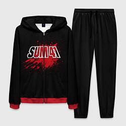 Костюм мужской Sum 41: Hot Blood цвета 3D-красный — фото 1