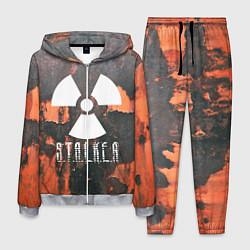 Костюм мужской S.T.A.L.K.E.R: Orange Toxic цвета 3D-меланж — фото 1