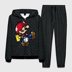 Костюм мужской Super Mario: Black Brick цвета 3D-черный — фото 1