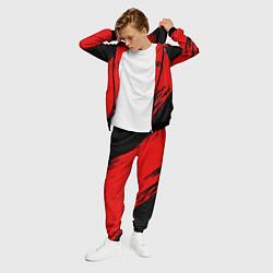 Костюм мужской R6S: Red Style цвета 3D-черный — фото 2