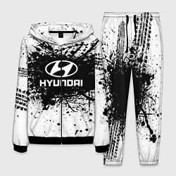 Костюм мужской Hyundai: Black Spray цвета 3D-черный — фото 1