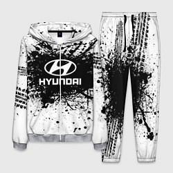 Костюм мужской Hyundai: Black Spray цвета 3D-меланж — фото 1