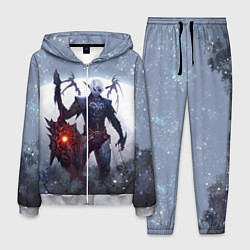 Костюм мужской Dark Knight цвета 3D-меланж — фото 1