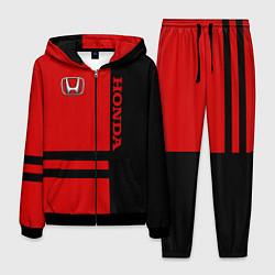 Костюм мужской Honda: Red Style цвета 3D-черный — фото 1
