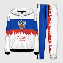 Костюм мужской Altai: Russia цвета 3D-черный — фото 1