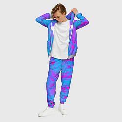 Костюм мужской Fortnite: Acid Neon цвета 3D-меланж — фото 2