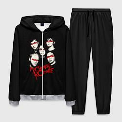 Костюм мужской My Chemical Romance Boys цвета 3D-меланж — фото 1