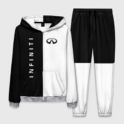 Мужской костюм Infiniti: Black & White