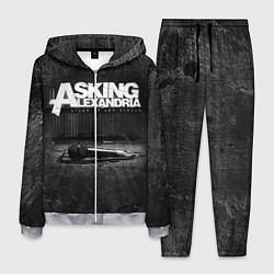 Костюм мужской Asking Alexandria: Black Micro цвета 3D-меланж — фото 1