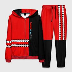 Костюм мужской Twenty One Pilots: Red Style цвета 3D-красный — фото 1