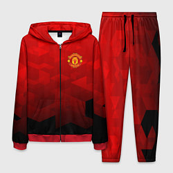 Костюм мужской FC Man UTD: Red Poly цвета 3D-красный — фото 1