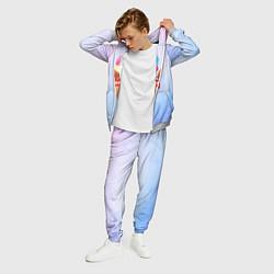 Костюм мужской Ice Creme цвета 3D-меланж — фото 2