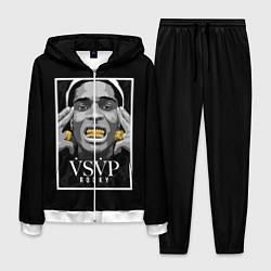 Костюм мужской ASAP Rocky: Gold Edition цвета 3D-белый — фото 1