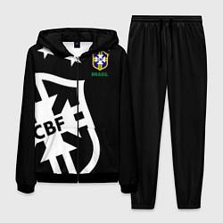 Костюм мужской Brazil Team: Exclusive цвета 3D-черный — фото 1