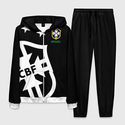 Костюм мужской Brazil Team: Exclusive цвета 3D-белый — фото 1