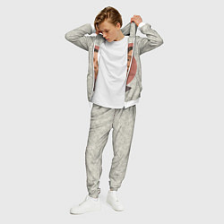 Костюм мужской ASAP Rocky: Runrise цвета 3D-белый — фото 2