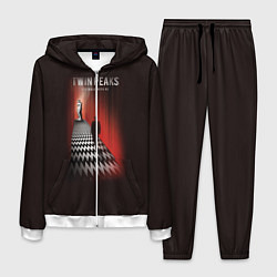 Костюм мужской Twin Peaks: Firewalk with me цвета 3D-белый — фото 1