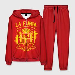 Костюм мужской La Furia цвета 3D-красный — фото 1