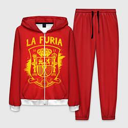 Костюм мужской La Furia цвета 3D-белый — фото 1