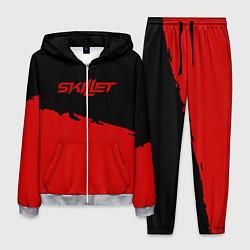 Костюм мужской Skillet: Red Section цвета 3D-меланж — фото 1