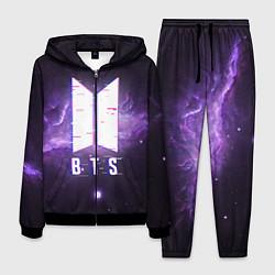 Костюм мужской BTS: Violet Space цвета 3D-черный — фото 1