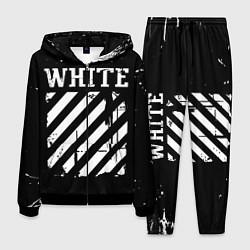 Костюм мужской Off white цвета 3D-черный — фото 1