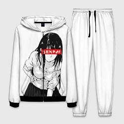 Костюм мужской Senpai Style цвета 3D-черный — фото 1