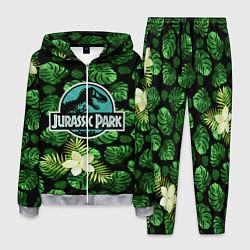 Костюм мужской Jurassic World: Green Flowers цвета 3D-меланж — фото 1