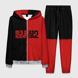 Костюм мужской RDD 2: Black & Red цвета 3D-меланж — фото 1