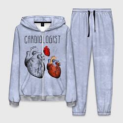 Костюм мужской Cardiologist цвета 3D-меланж — фото 1