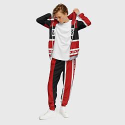 Костюм мужской IKON Stripes цвета 3D-меланж — фото 2