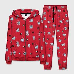 Костюм мужской IKON Bears цвета 3D-красный — фото 1