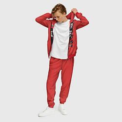 Костюм мужской Мориарти цвета 3D-красный — фото 2