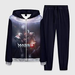 Костюм мужской Mass Effect 3 цвета 3D-меланж — фото 1
