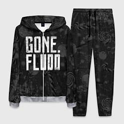 Костюм мужской GONE Fludd Dark цвета 3D-меланж — фото 1