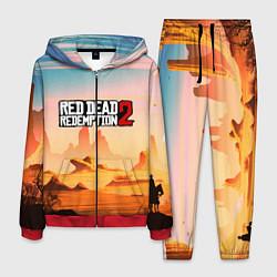 Костюм мужской RDR 2: Wild West цвета 3D-красный — фото 1