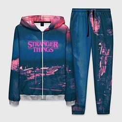 Костюм мужской Stranger Things: Pink Heaven цвета 3D-меланж — фото 1