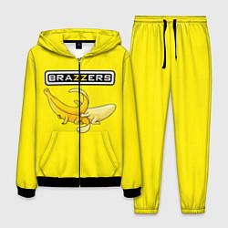 Костюм мужской Brazzers: Yellow Banana цвета 3D-черный — фото 1